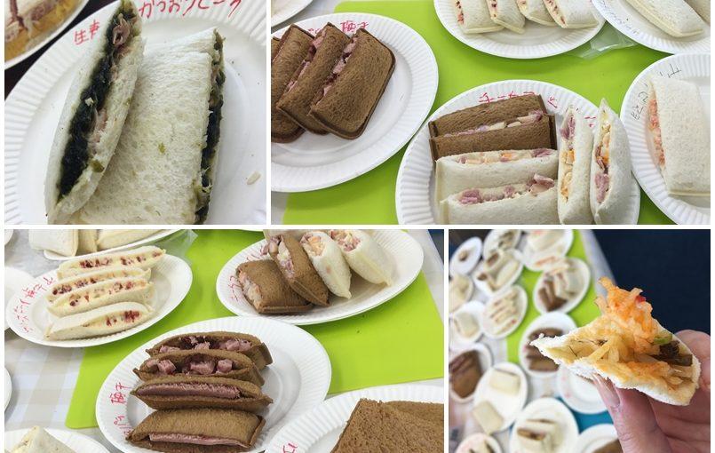 フジパンのスナックサンド 手作り大会! #オジ旅PR #スナックサンド工場見学
