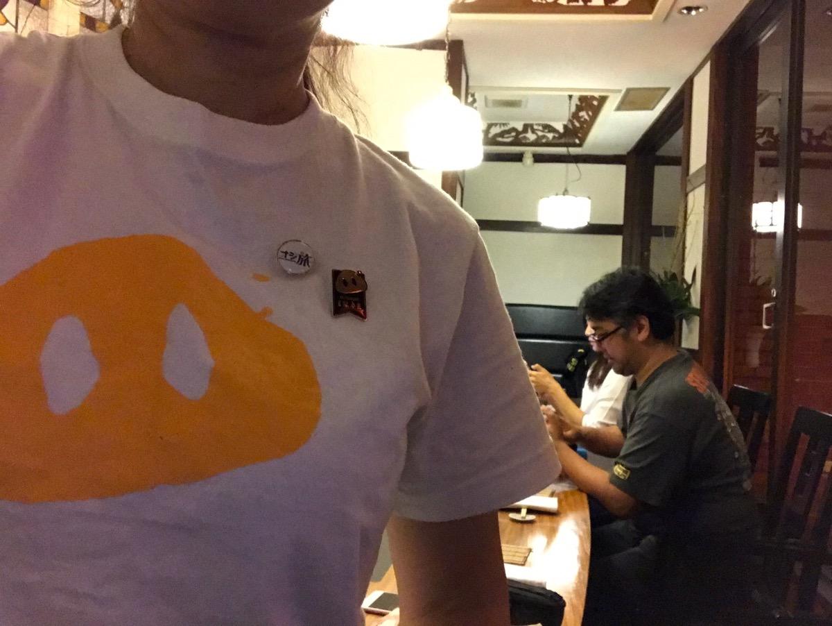 豚組オリジナルTシャツ