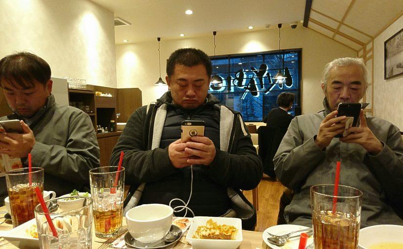 MIYABIカフェでオジさんたちが #オジ旅PR #MIYABICAFE