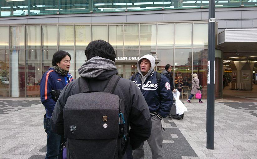 浦和を歩いていたらオジさんがいました! #オジ旅 #浦和
