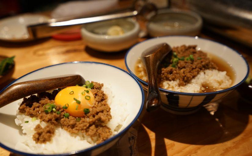 そぼろご飯とお茶漬け  #オジ旅PR #ジンギスカン悟大
