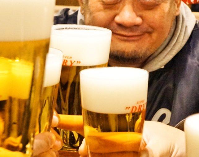 凄い生ビールが来ました!  #オジ旅PR #ランプキャップ田町店