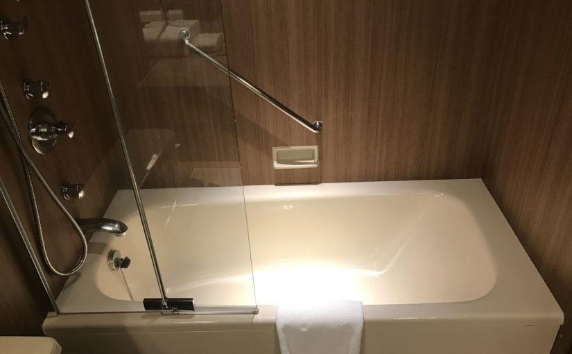 ラージなお風呂もありました #ヒルトン名古屋 #オジ旅PR