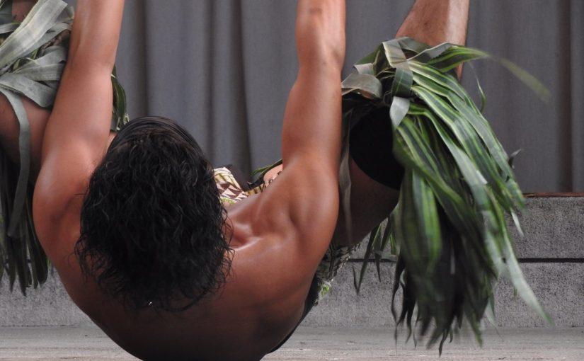 安定のアレックス ファイヤーナイフダンサー #オジ旅PR #ハワイアンズ