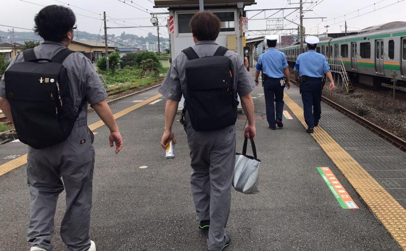 制服2対2 #オジ旅 #青春18きっぷ