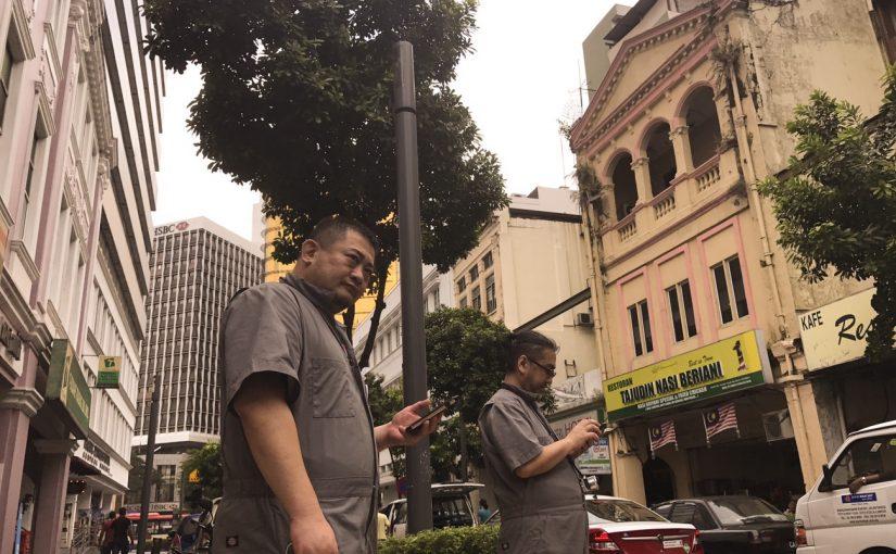 クアラルンプールとオジさん #オジ旅PR #新日本焼肉党 #マレーシア