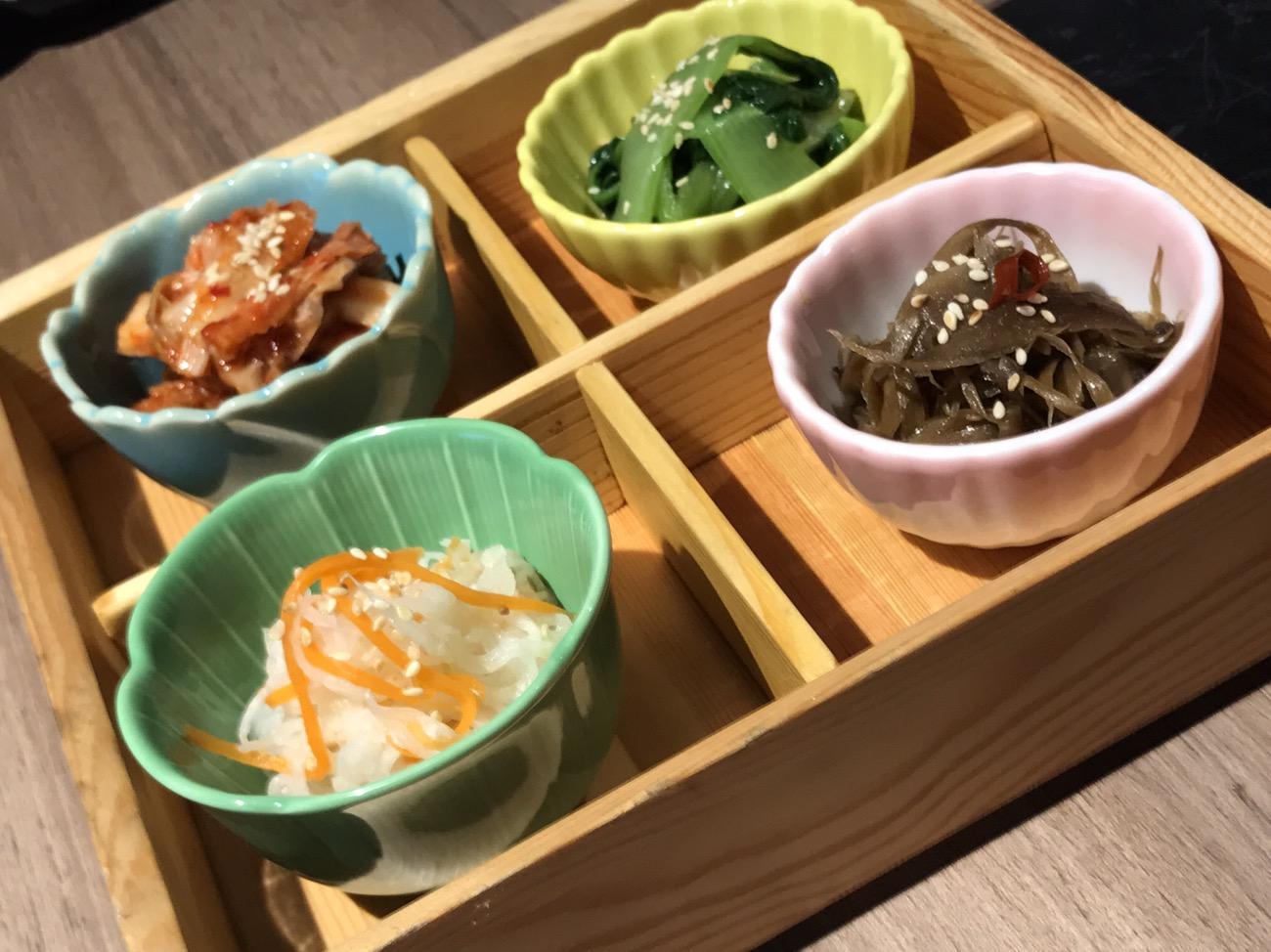 新日本焼肉党 マレーシアクアラルンプールの小鉢