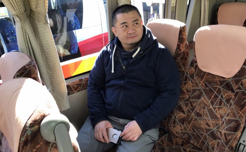 オジ旅4回目のハワイアンズ!無料バスで出発 #オジ旅PR #ハワイアンズ