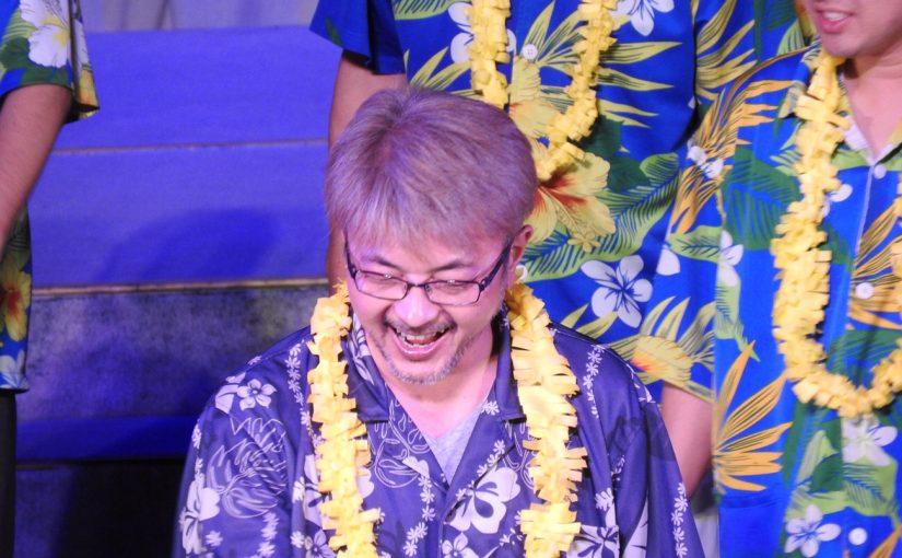 体験コーナーもあるハワイアンズ 夜のステージ #オジ旅PR #ハワイアンズ