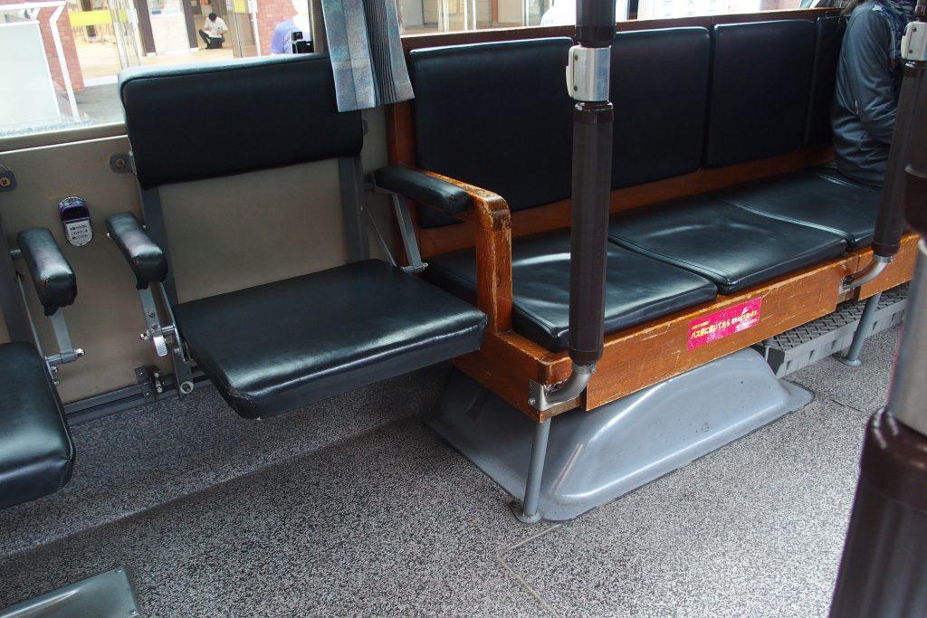 駿府浪漫バス車内