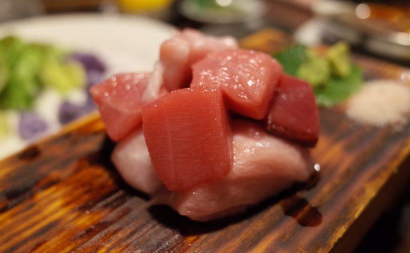 中野 魚せんの熟成本マグロ