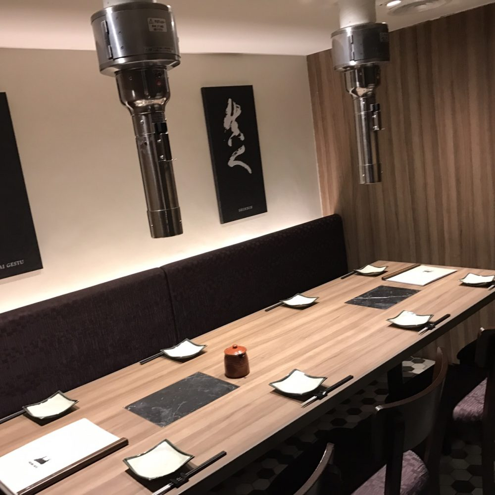 個室 新日本焼肉党 マレーシアクアラルンプール